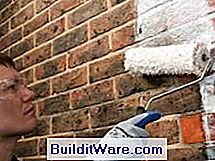 Bakstenen Muur Tuin : Hoe een bakstenen muur in uw tuin te schilderen nuttig advies over