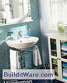 Badezimmer Installation, installation eines badezimmer waschbecken: wand-hing waschbecken, Design ideen