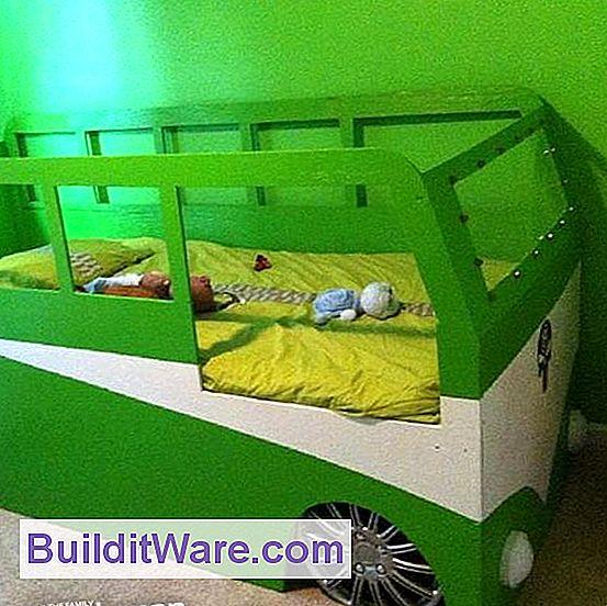 Stapelbedplattegronden: Een Stapelbed In Een Speelhuis