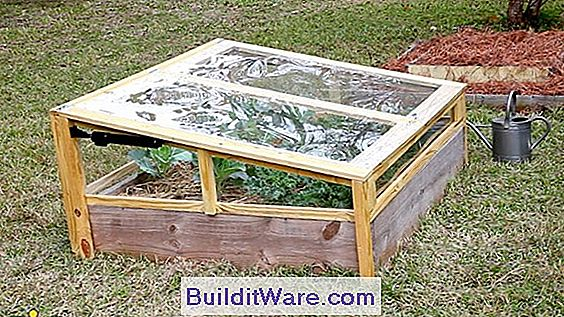Cold Frame, Hot Bed Construction And Use