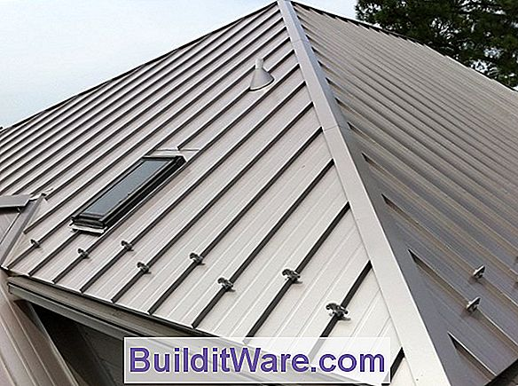 Stehend Seam Sheet Metal Roofing