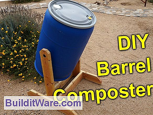 DIY Compost Barrel Tumbler