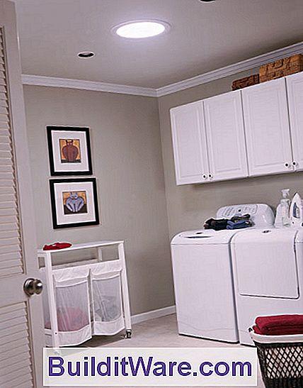 oberlichtbeleuchtung ideen das röhrenförmige oberlicht erhellt eine fensterlose waschküche und minimiert den bedarf an elektrischer beleuchtung röhrenförmige oberlichter tageslicht nützliche hinweise zu
