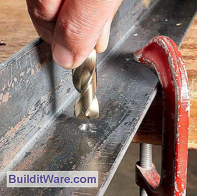 12 tipps zum bohren von l chern in metall n tzliche hinweise zu reparieren machen sie ihre. Black Bedroom Furniture Sets. Home Design Ideas