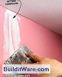 Hvordan male vegger klargj re innvendige vegger for maling nyttige r d om reparasjon lag for Preparing interior walls for painting