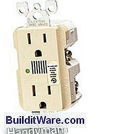 In-Wall Surge Protectors og Surge Suppression Resceptacles