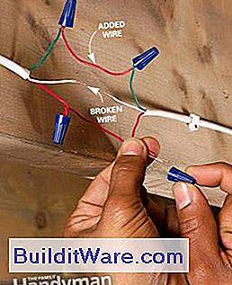 Berühmt Eine Türklingel reparieren: Eine defekte oder defekte Türklingel WL52