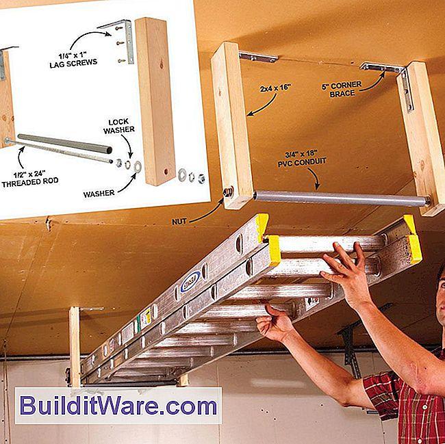 11 einfache garage platzsparende ideen n tzliche hinweise zu reparieren machen sie ihre. Black Bedroom Furniture Sets. Home Design Ideas