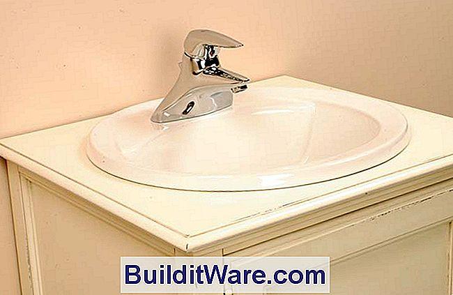 installieren sie ein badezimmer arbeitsplatte waschbecken n tzliche hinweise zu reparieren. Black Bedroom Furniture Sets. Home Design Ideas