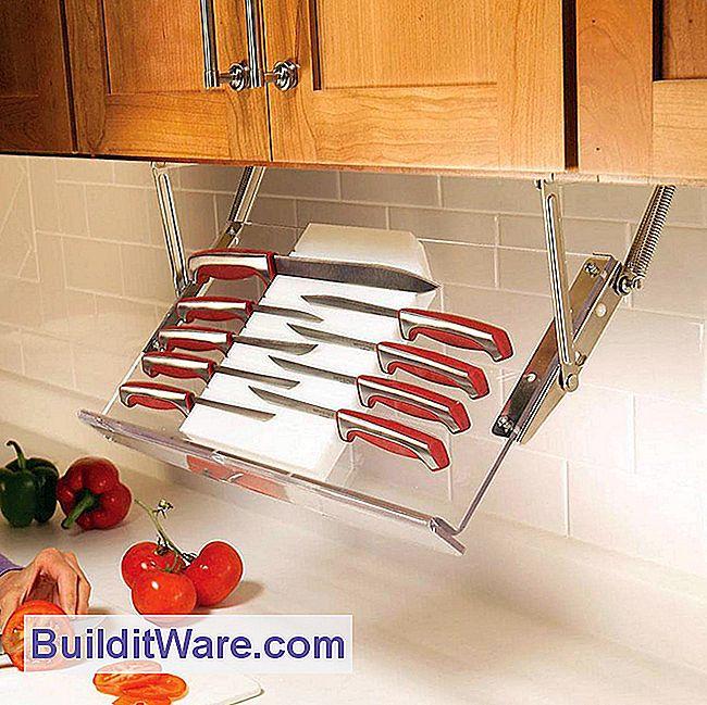 9 Genie Tipps für das Ordnen von Küchen und das Aufräumen der ...