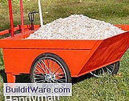 Kendi elleriyle bahçe arabası: fotoğraf, talimat
