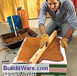Bild 6: Ebener Beton In Der Beckenform