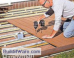 Hoe bouw je een terras boven een betonnen patio nuttig