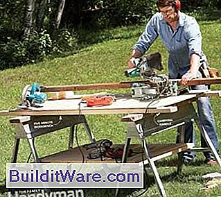 Kunniga Sawhorse Table Tips
