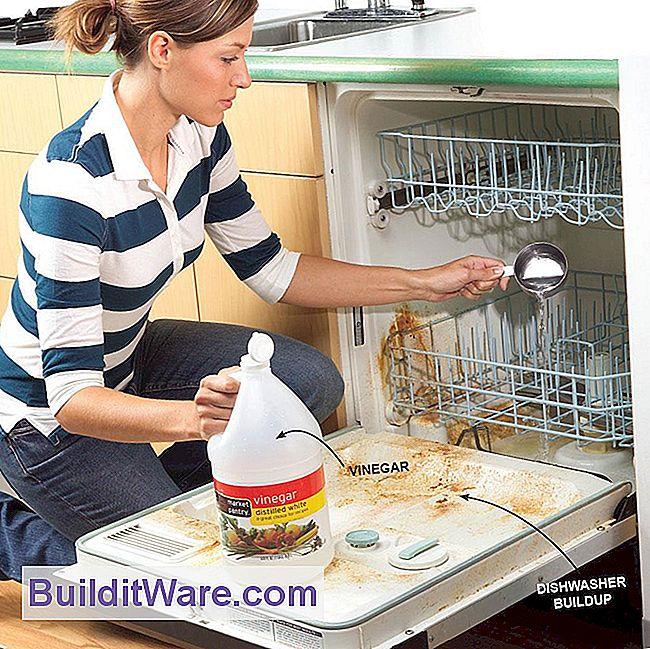 hvordan tomme oppvaskmaskin for vann