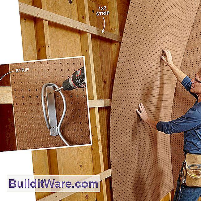 organisieren alles mit pegboard 11 ideen und tipps n tzliche hinweise zu reparieren machen. Black Bedroom Furniture Sets. Home Design Ideas