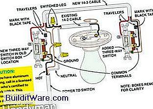 Verdrahtung eines 3-Wege-Lichtschalters - Nützliche Hinweise Zu ...