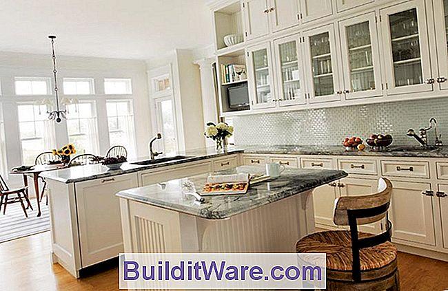 Eine Klassische, Ganz Weiße Küche - Nützliche Hinweise Zu Reparieren ...