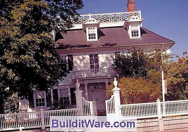 Das 1784 Langdon House In Portsmouth, New Hampshire, Gilt Als Eines Der  Schönsten Georgianischen