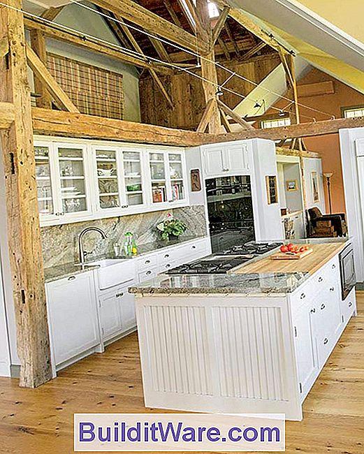 Geräumige Küche In Einer Umgebauten Scheune - Nützliche Hinweise Zu ...