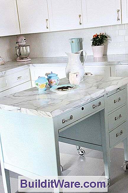 Verwandle Einen Schreibtisch In Eine Kücheninsel - Nützliche ...